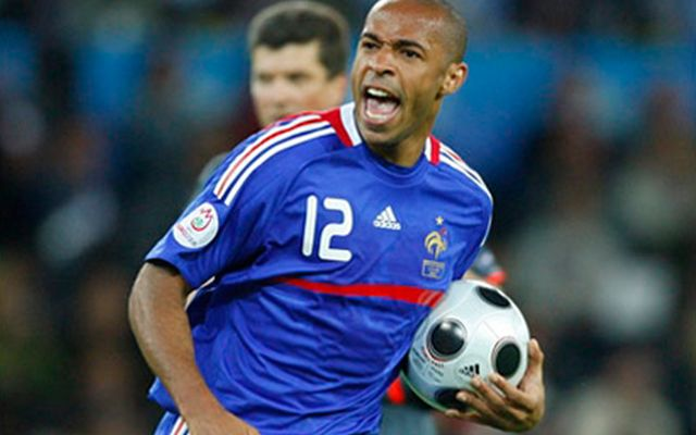 Thierry Henry (Francia) - 6 goles