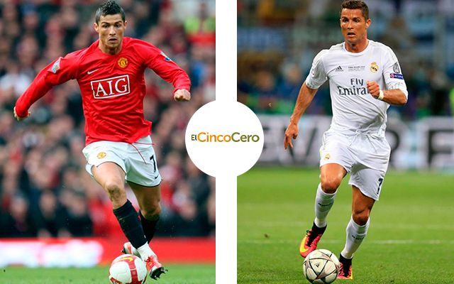 Cristiano Ronaldo - Manchester United (2003 - 2009) y Real Madrid (2009 - Actualidad)