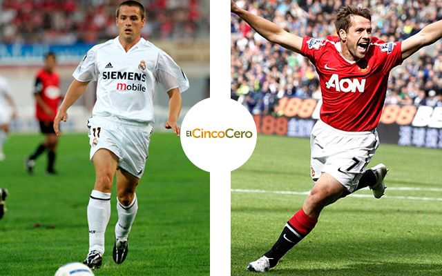 Michael Owen - Real Madrid (2004 - 2005) y Manchester United (2009 - 2011)
