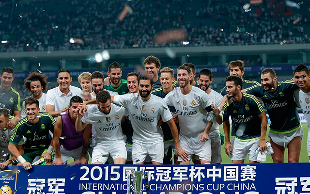 Real Madrid Milan 2015 Shanghai