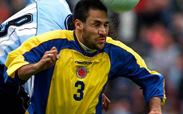 Mario Yepes Seleccion Colombia 2004