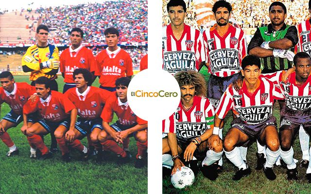 Atletico Junior Independiente Medellin 1993
