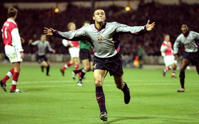 Arsenal vs Barcelona 1999