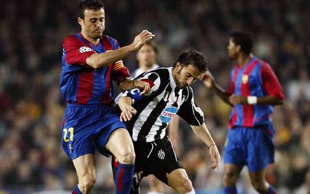 Luis Enrique vs Juventus