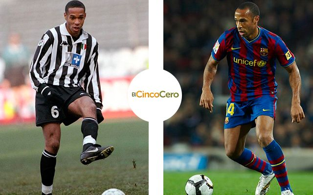 Thierry Henry - Juventus (1999) y Barcelona (2007 - 2010)