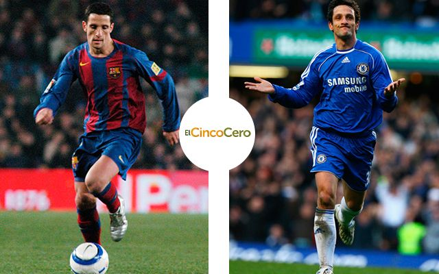 Juliano Belleti - Barcelona (2004 - 2007) y Chelsea (2007 - 2010)