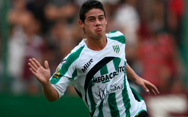 James Rodriguez Banfield Lanus