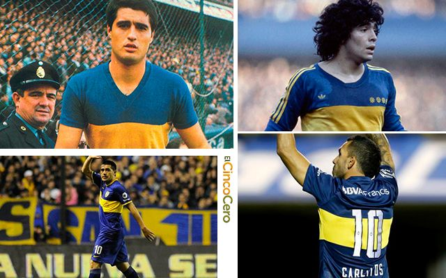 Boca Juniors Camiseta 10
