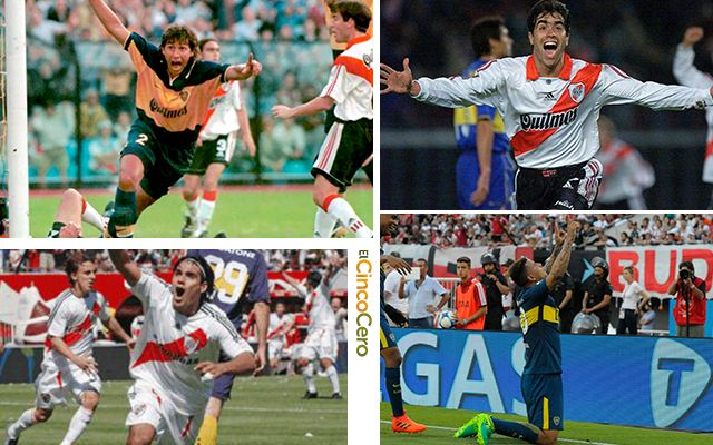 Colombianos Goles Superclasico Boca Juniors River Plate