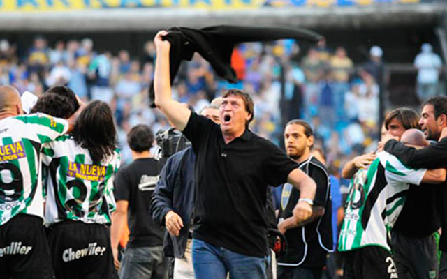 Julio Falcioni Banfield Campeon 2009 James
