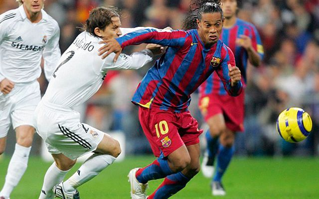 Ronaldinho Barcelona Real Madrid 2005