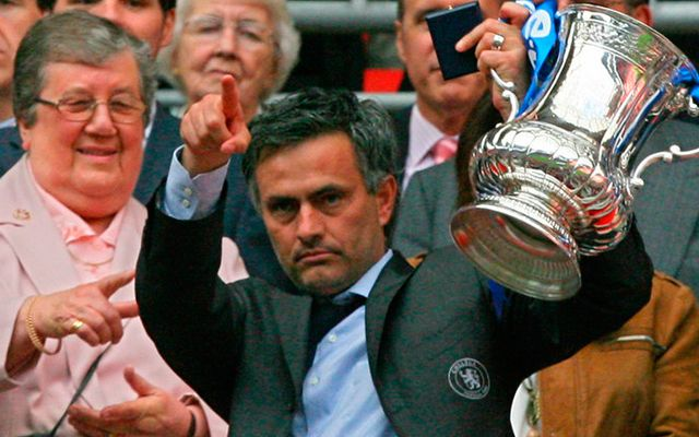 Chelsea Manchester United FA Cup 2007 Mourinho