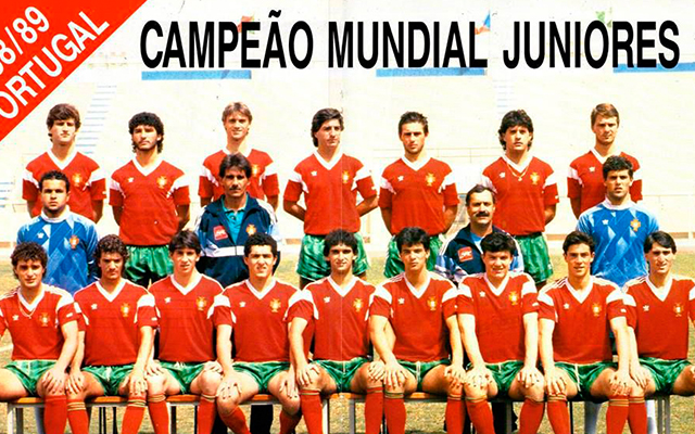 Portugal Sub 20 Campeon 1989