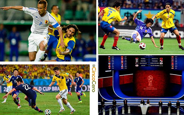 Historial Colombia Japon