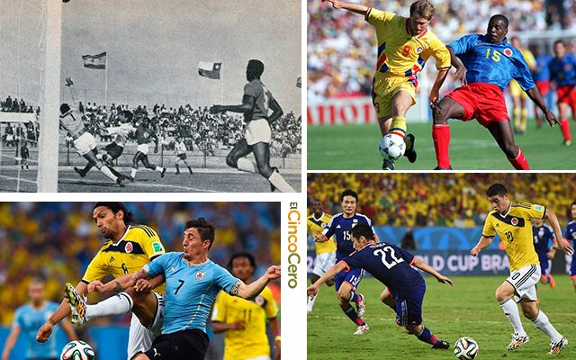 Rivales Repetidos Colombia Mundial