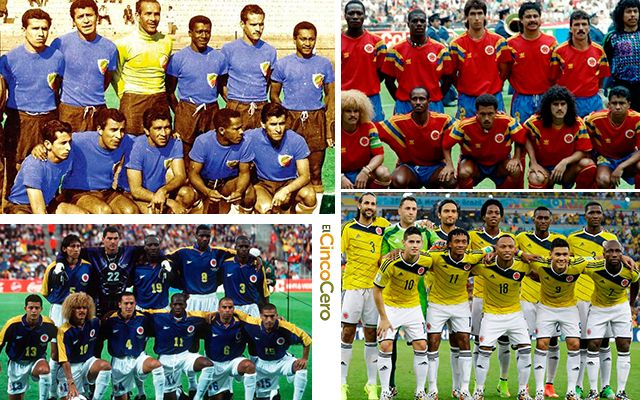 Clubes Seleccion Colombia Mundiales