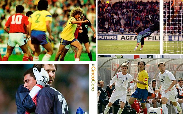 Historial Colombia Inglaterra