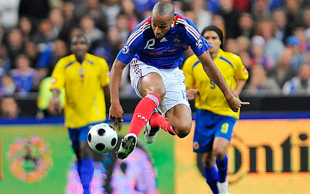 Thierry Henry Falcao Garcia 2008