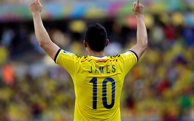 06 James Rodriguez Seleccion Colombia