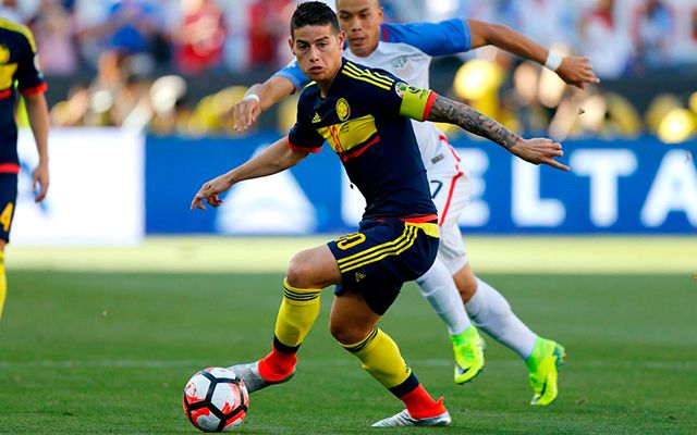 James Rodriguez Seleccion Colombia 2016